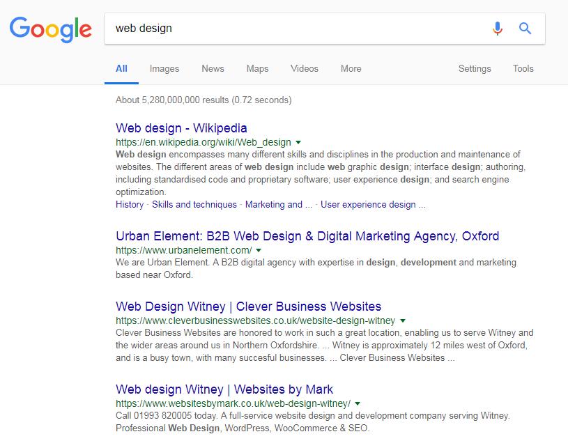 Web Design Witney